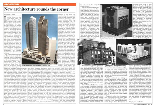 Article Preview: New architecture rounds the corner, December 1981 | Maclean's