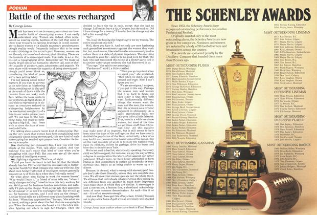 Article Preview: Battle of the sexes recharged, December 1981 | Maclean's