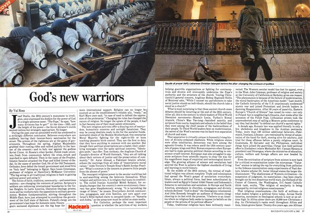 Article Preview: God's new warriors, January 1982 | Maclean's