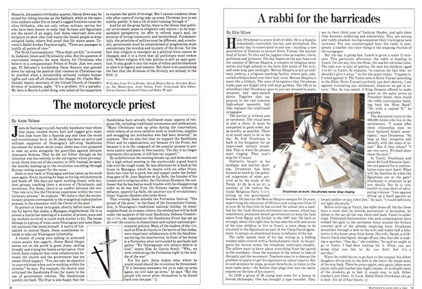 Article Preview: A rabbi for the barricades, January 1982 | Maclean's