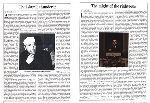 Article Preview: The might of the righteous, January 1982 | Maclean's