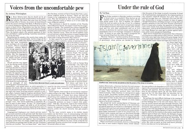 Article Preview: Under the rule of God, January 1982 | Maclean's