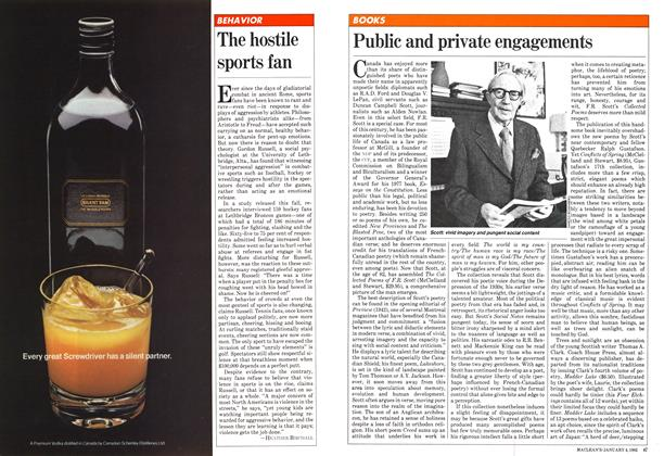 Article Preview: Public and private engagements, January 1982 | Maclean's