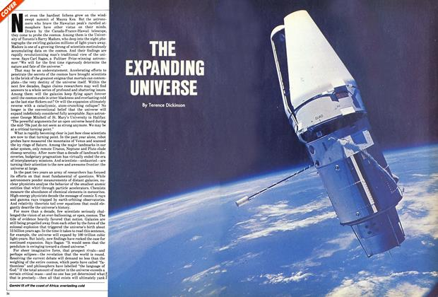 Article Preview: THE EXPANDING UNIVERSE, January 1982 | Maclean's