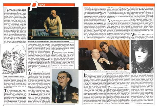 Article Preview: The new dynamic duo, January 1982 | Maclean's