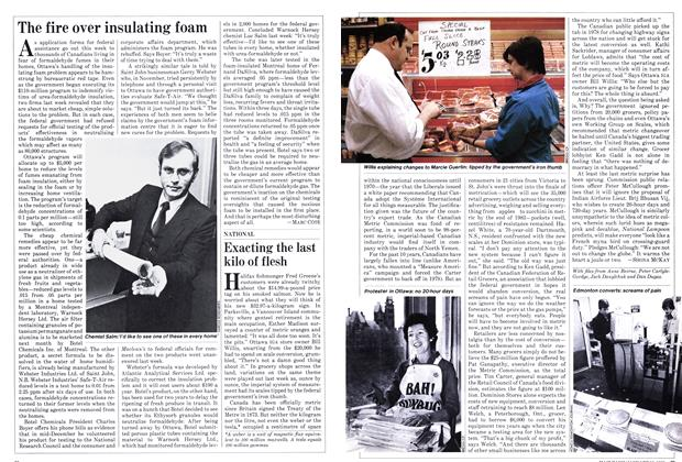 Article Preview: Exacting the last kilo of flesh, January 1982 | Maclean's