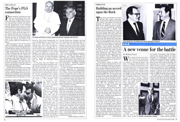 Article Preview: Building an accord upon the Rock, January 1982 | Maclean's