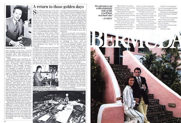 Article Preview: A return to those golden days, January 1982 | Maclean's