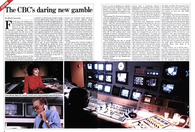Article Preview: The CBC's daring new gamble, January 1982 | Maclean's