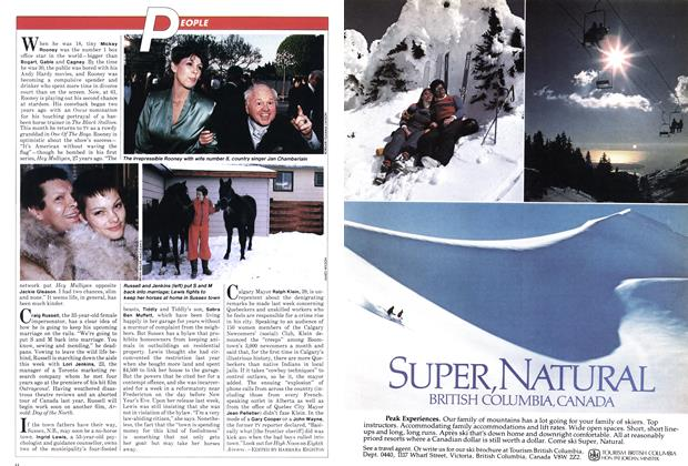 Article Preview: PEOPLE, January 1982 | Maclean's