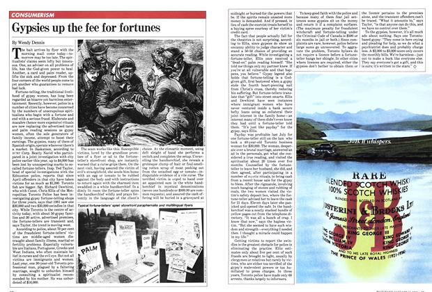 Article Preview: Gypsies up the fee for fortunes, January 1982 | Maclean's