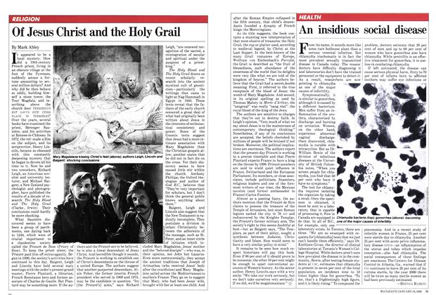 Article Preview: Of Jesus Christ and the Holy Grail, January 1982 | Maclean's