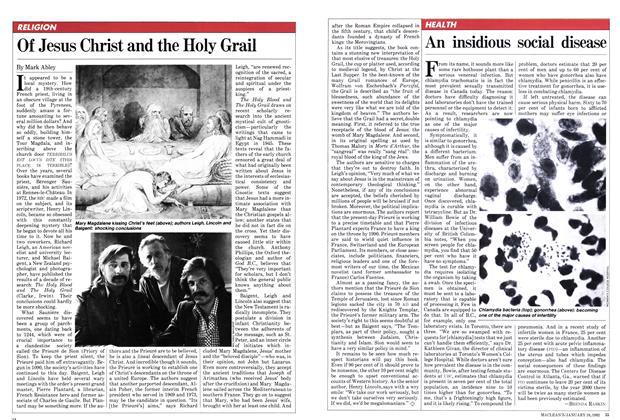 Article Preview: An insidious social disease, January 1982 | Maclean's