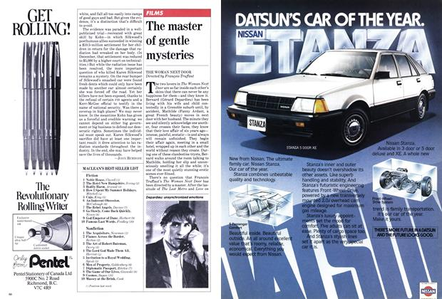 Article Preview: The master of gentle mysteries, January 1982 | Maclean's
