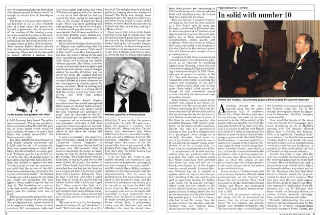 Article Preview: In solid with number 10, January 1982 | Maclean's