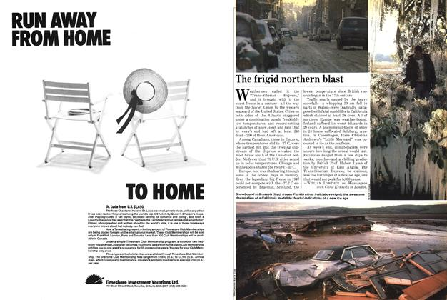 Article Preview: The frigid northern blast, January 1982 | Maclean's