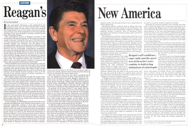 Article Preview: Reagan's New America, January 1982 | Maclean's
