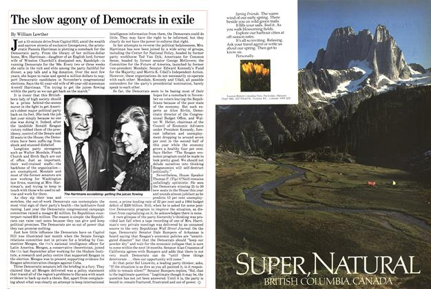 Article Preview: The slow agony of Democrats in exile, January 1982 | Maclean's