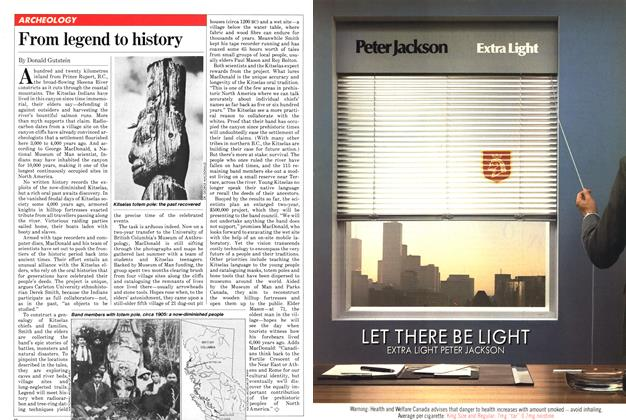 Article Preview: From legend to history, January 1982   Maclean's