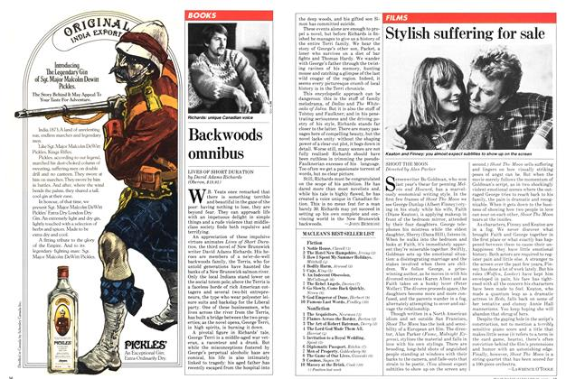 Article Preview: Stylish suffering for sale, January 1982 | Maclean's