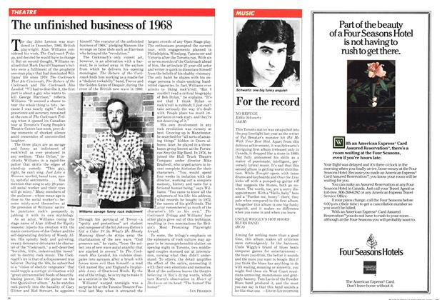 Article Preview: For the record, January 1982 | Maclean's
