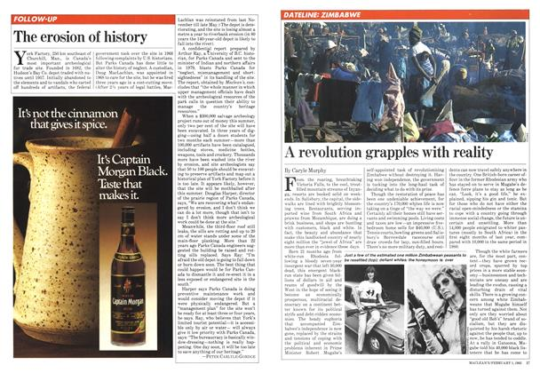 Article Preview: A revolution grapples with reality, February 1982   Maclean's