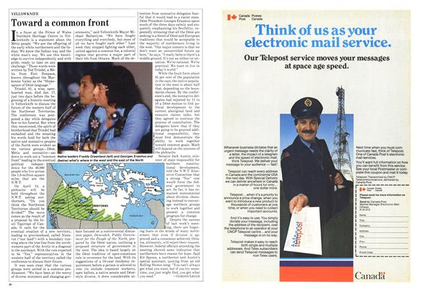 Article Preview: Toward a common front, February 1982 | Maclean's