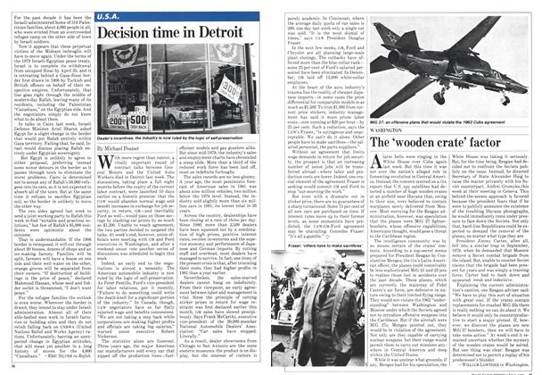 Article Preview: Decision time in Detroit, February 1982   Maclean's