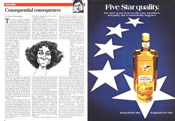 Article Preview: Consequential consequences, February 1982 | Maclean's