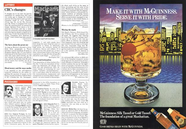 Article Preview: CBC's changes, February 1982 | Maclean's