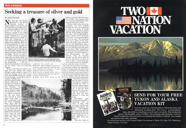 Article Preview: Seeking a treasure of silver and gold, February 1982 | Maclean's