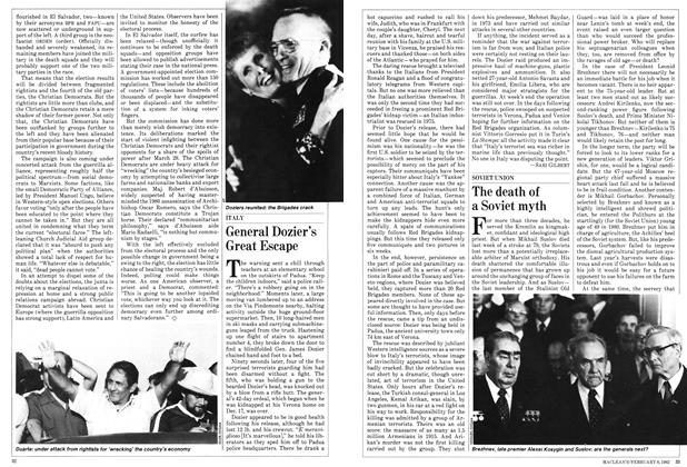 Article Preview: The death of a Soviet myth, February 1982   Maclean's