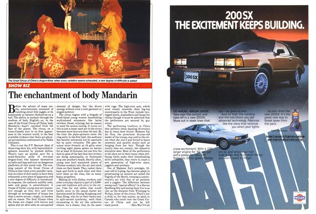 Article Preview: The enchantment of body Mandarin, February 1982 | Maclean's