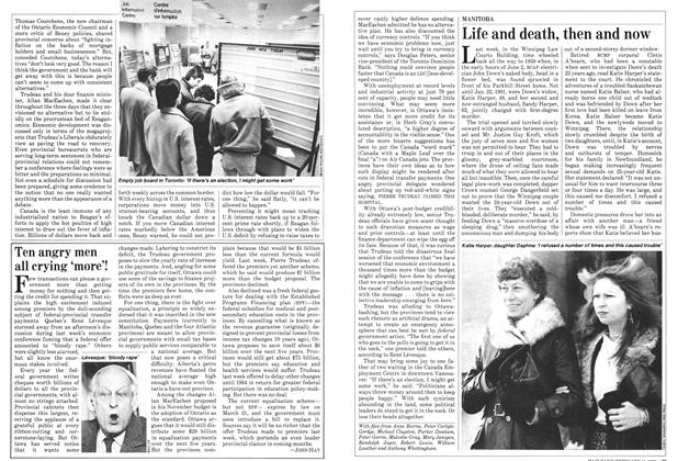 Article Preview: Life and death,then now, February 1982 | Maclean's