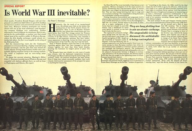 Article Preview: Is World War III inevitable?, February 1982 | Maclean's