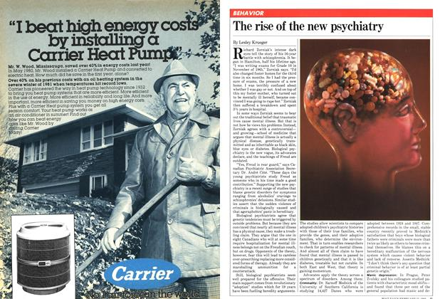 Article Preview: The rise of the new psychiatry, February 1982 | Maclean's