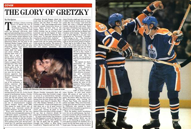Article Preview: THE GLORY OF GRETZKY, February 1982 | Maclean's