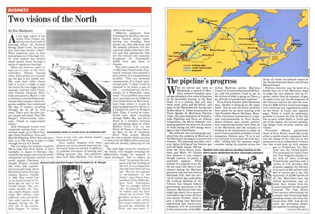 Article Preview: Two visions of the North, February 1982 | Maclean's