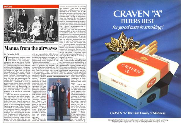 Article Preview: Manna from the airwaves, February 1982 | Maclean's