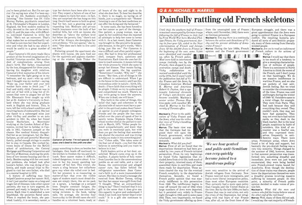 Article Preview: Painfully rattling old French skeletons, February 1982 | Maclean's