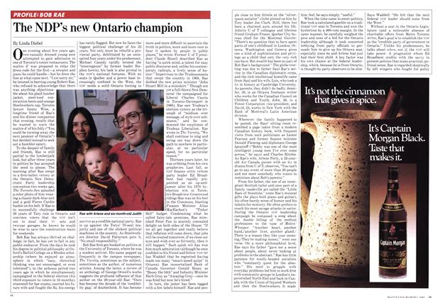Article Preview: The NDP's new Ontario champion, March 1982 | Maclean's
