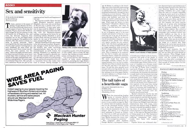 Article Preview: Sex and sensitivity, March 1982 | Maclean's