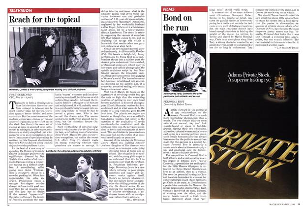 Article Preview: Bond on the run, March 1982 | Maclean's