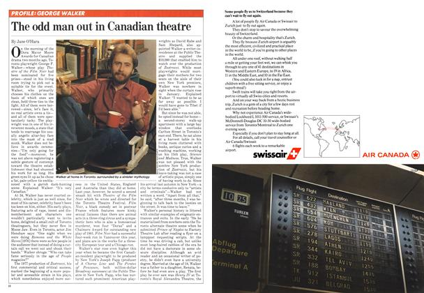 Article Preview: The odd man out in Canadian theatre, March 1982 | Maclean's
