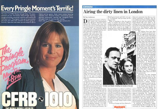 Article Preview: Airing the dirty linen in London, March 1982 | Maclean's