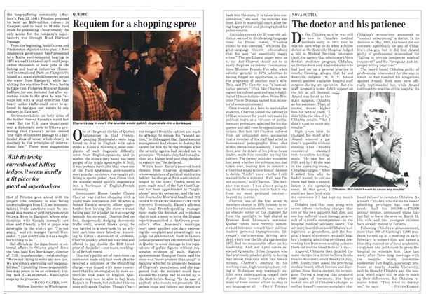Article Preview: Requiem for a shopping spree, March 1982 | Maclean's