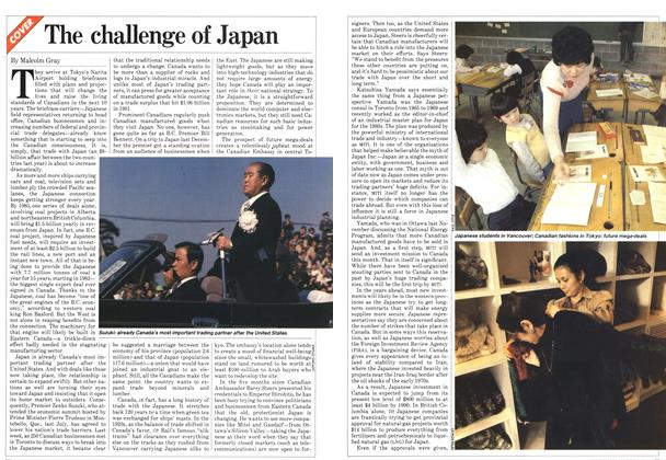 Article Preview: The challenge of Japan, March 1982 | Maclean's