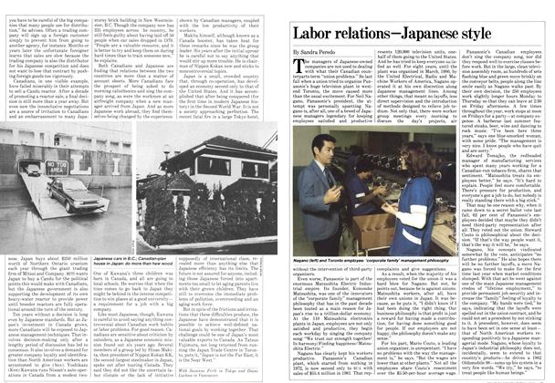 Article Preview: Labor relations—Japanese style, March 1982 | Maclean's