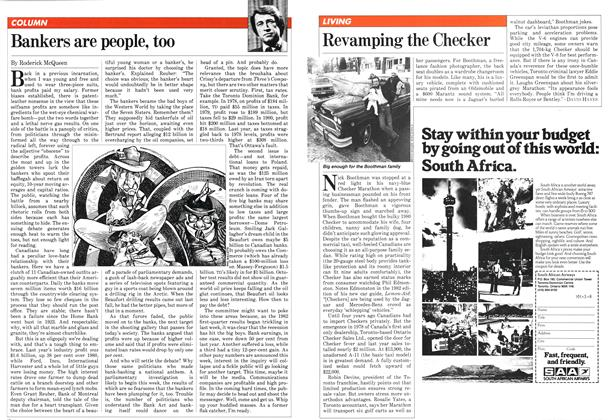 Article Preview: Bankers are people, too, March 1982 | Maclean's