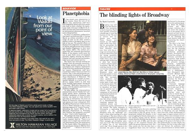 Article Preview: The blinding lights of Broadway, March 1982 | Maclean's